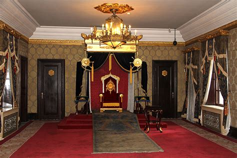 Kensington Palace Interior by File Museum Imperial Palace Manchu State Throne Room 2011