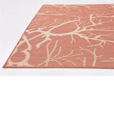 fringeless modern thin outdoor indoor area rug