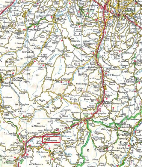 bagno di romagna mappa varie mappe selvapiana bagno di romagna fc