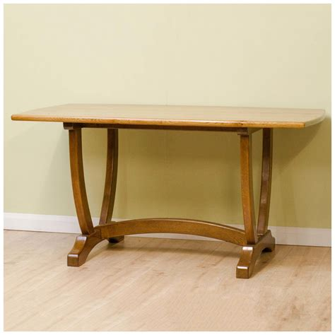 Handmade Oak Dining Table - michael seahorseman school oak handmade