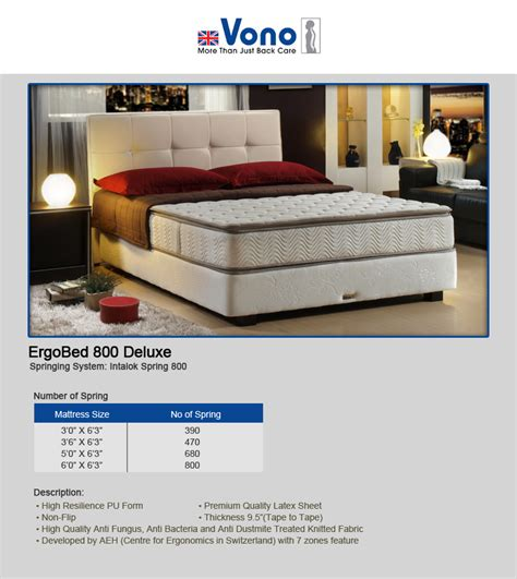 Vono Mattress Review Singapore by Vono Bed Frame Frame Design Reviews