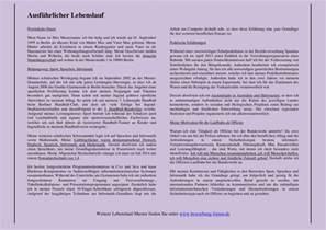 Ausf 252 Hrlicher Lebenslauf Formulierungen Und Muster