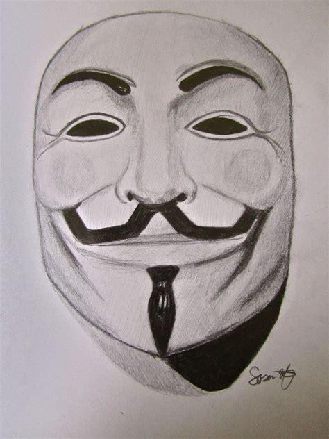 Drawing V For Vendetta by V Mask V For Vendetta By Sassyish On Deviantart