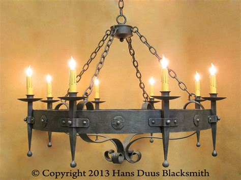 Handmade Blacksmith Products - new products traditional chandeliers santa barbara