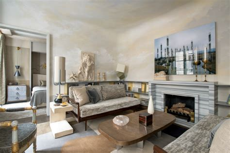 chic and small apartment interior jean louis deniot s eclectic chic parisian apartment