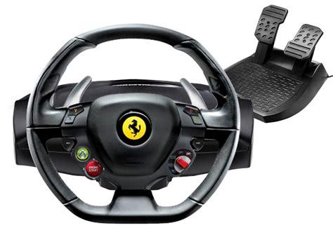 volante xbox 360 458 il primo volante al mondo con licenze ufficiali e