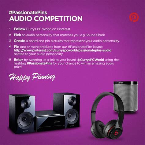 competition audio competition passionatepins audio pinterest techtalk