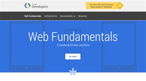 google design fundamentals google web fundamentals kostenloses online handbuch lehrt