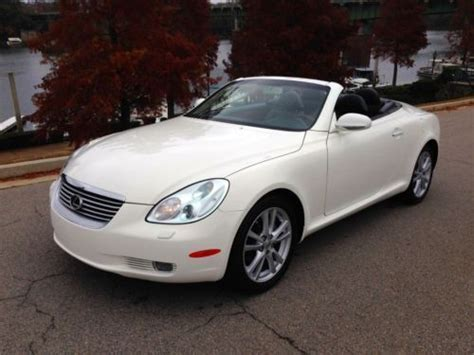 lexus convertible 4 door buy used 2005 lexus sc430 hard top convertible 2 door 4 3l