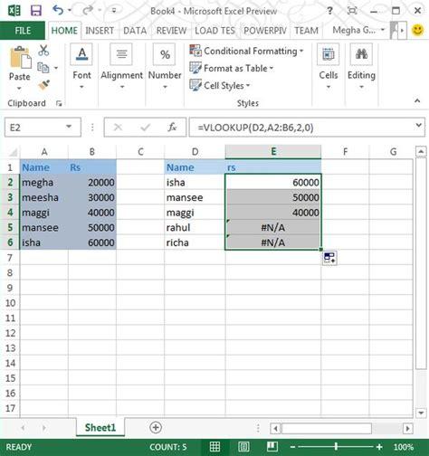 Lookup In Excel Image Gallery Excel 2013 Vlookup