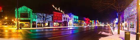 rochester michigan xmas lighting rochester light display photograph by twenty two photography