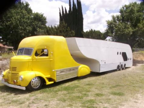 gmc cer trailer 4 rich 41 gmc coe build streamlined car