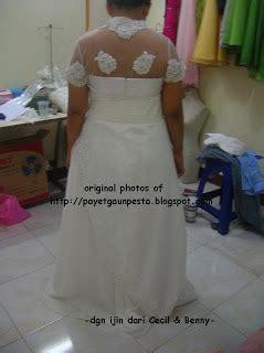 Setelan Gaun Pengantin Ekor White by Koleksi Baju Manten Dan Pakaian Manten Model Setelan Jas