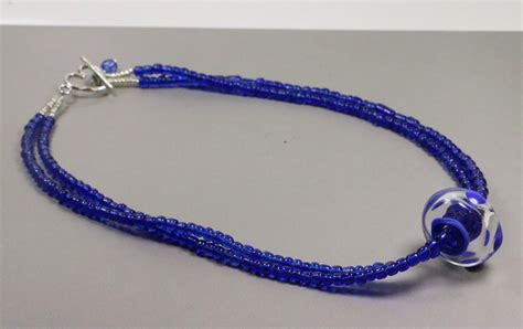 seed bead focal necklace 183 how to make a beaded pendant