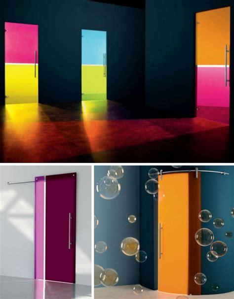 Coloured Glass Doors 15 Fantastic Glass Frosted Frameless Interior Doors