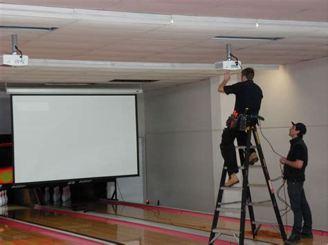 audio visual installation network cabling contractor