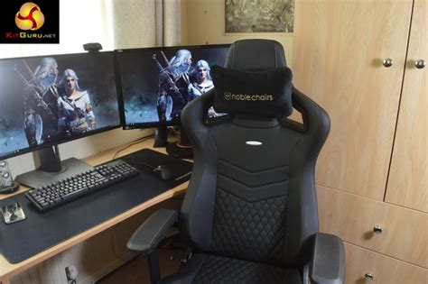 Noblechairs epic real leather gaming chair review kitguru