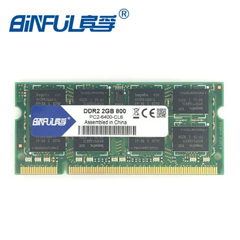 Sale Vgen Sodimm Ddr2 2gb Pc 6400 aliexpress buy ddr2 2gb sodimm 800mhz ram pc2 6400s 200pin notebook memory compatible with