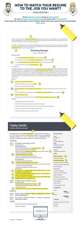 Job Resume Match by 25 Best Ideas About Job Resume On Pinterest Resume Help