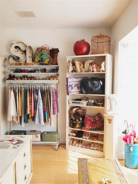 Decorated Wardrobes - trending flower power and bohemian chic decor tres chic