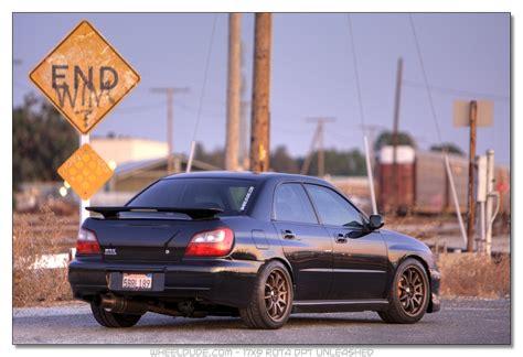 2002 subaru impreza tire size subaru impreza custom wheels rota dpt 17x9 0 et 42 tire