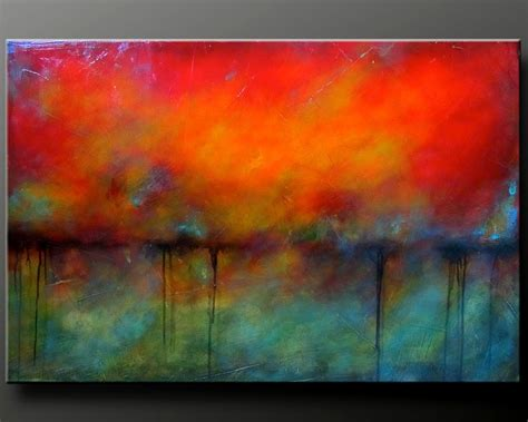 acrylic paint canvas abstract oxidized metal 2 36 x 24 acrylic abstract by charlensabstracts