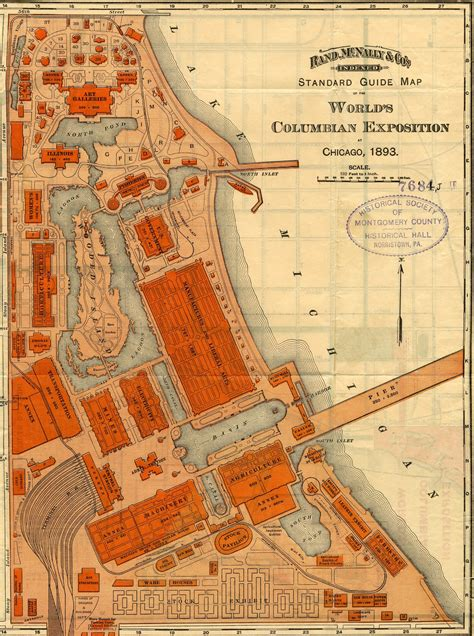 chicago map world chicago 1893 world s columbian exposition how i see it