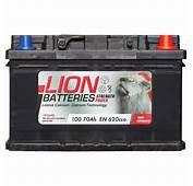 Lion 100 Battery  70Ah 3 Year Guarantee