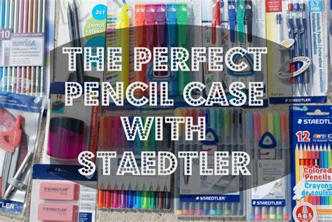 Back To School Giveaway 2017 Near Me - the perfect pencil case with staedtler bts giveaway naturally cracked
