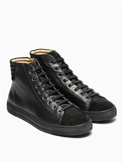 damir doma sneakers silent damir doma fidis high top sneakers in black for