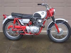 305 Honda Scrambler 1965 Honda Cl77 Motorcycle 305 Scrambler