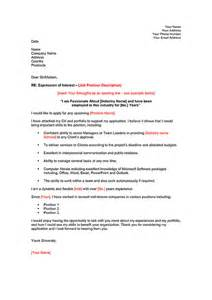 Cover Letter Expression Of Interest by Employee Expression Of Interest Digital Documents Direct