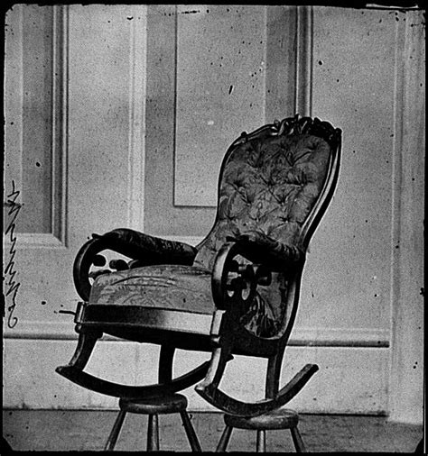 lincoln rocking chair history rocking chair lincoln used at time of assassination