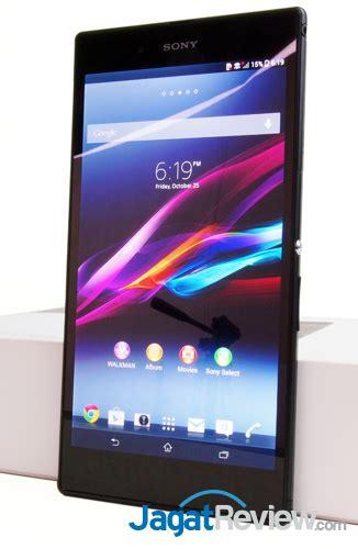 Tablet Sony Tahan Air review sony xperia z ultra android layar besar tahan air
