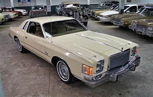 1979 Chrysler Cordoba 1979 Chrysler Cordoba For Sale 1801695 Hemmings Motor News