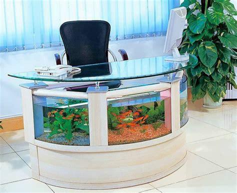 bureau aquarium quot joli aquarium bureau