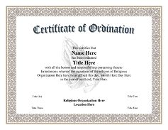 ordination certificate template certificate of ordination deacon template search results