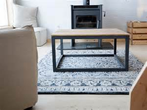 Diy Modern Coffee Table How To Build A Modern Industrial Coffee Table How Tos Diy
