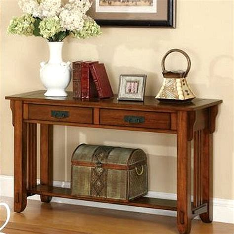 mission style sofa table oak mission oak sofa table living room furniture mission