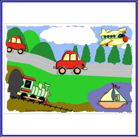 Transport Wall Stickers transportation pictures for kids free download clip art