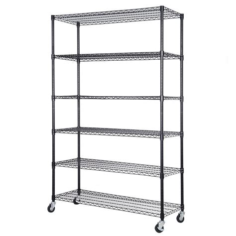 Wire Rack Storage by Convenience Boutique Adjustable Shelving Storage Rack 6