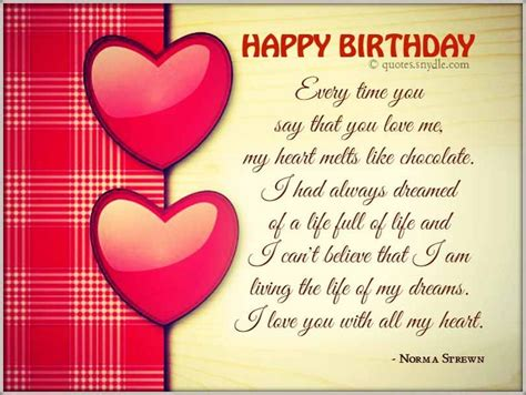 Best Birthday Wishes Quotes For Boyfriend Boyfriend Happy Birthday Quotes Birthday Wishes Quotes