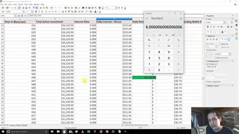 Bitconnect Lending Spreadsheet | i compare dash x11 mining vs bitconnect spreadsheets and