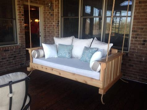twin bed swing plans learn how to build your own hanging day bed swing your