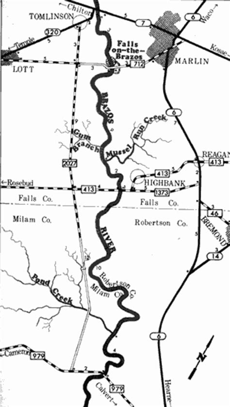 brazos river map texas tpwd an analysis of texas waterways pwd rp t3200 1047 brazos river