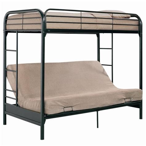 Metal Bunk Bed Frame With Futon Metal Futon Bunk Bed Metal Futon Bunk Bed Design Ideas Bedroom Design Catalogue