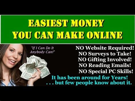 How Can You Make Money Online For Free - how can you really make money online for free without a website youtube