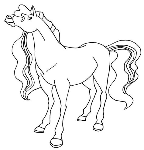 coloring pictures of horses free coloring pages of