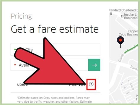fare estimate uber 3 ways to get an uber fare estimate in advance wikihow