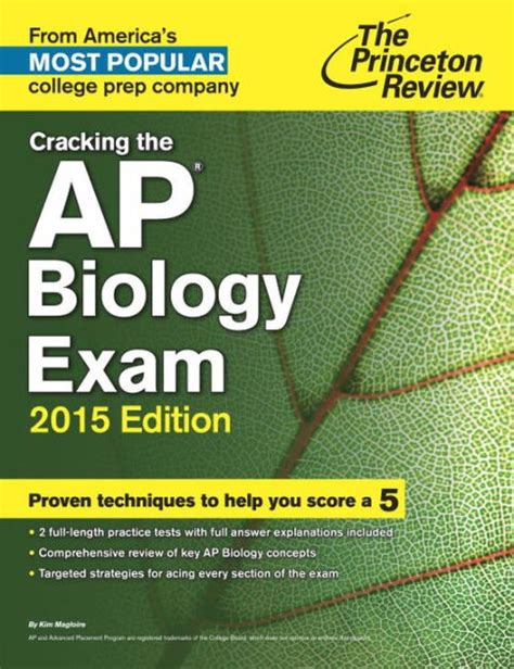 biology coloring book princeton review cracking the ap biology 2015 edition by princeton
